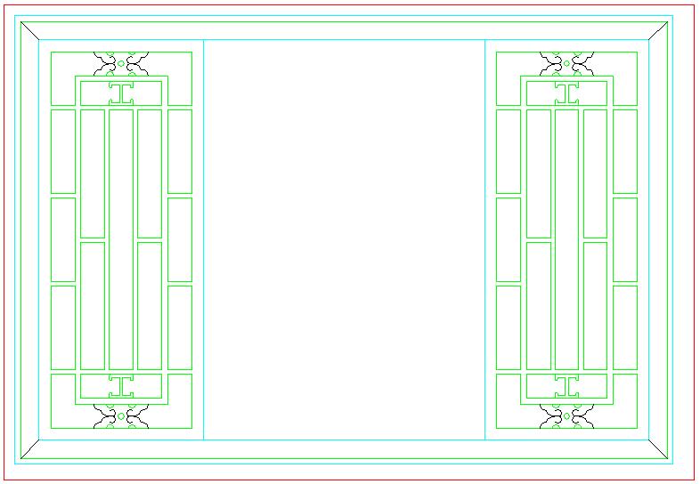 古典家装设计cad素材图库图片2