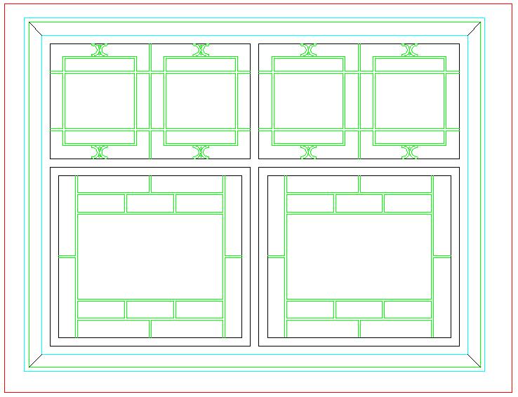 古典家装设计cad素材图库图片3