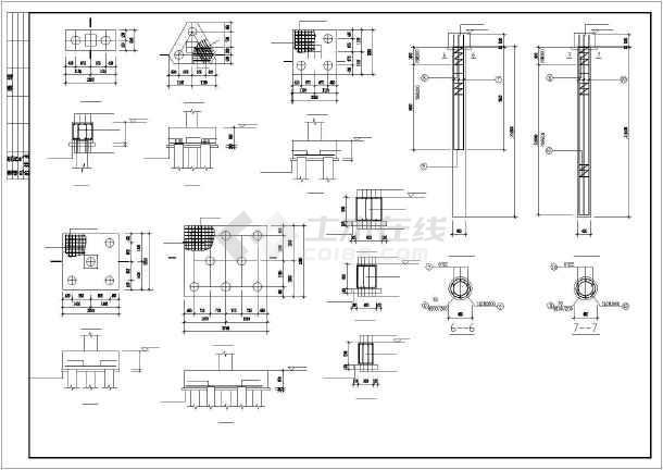 剪力墙结构小高层住宅楼建筑工程cad施工图-图1