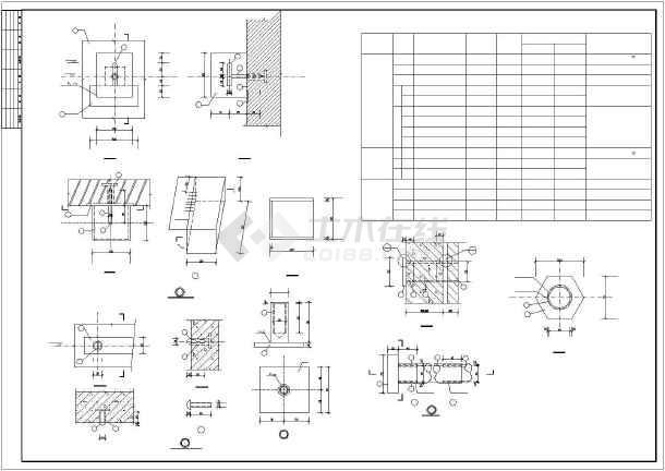 超高180米混凝土烟囱cad结构设计施工图-图3