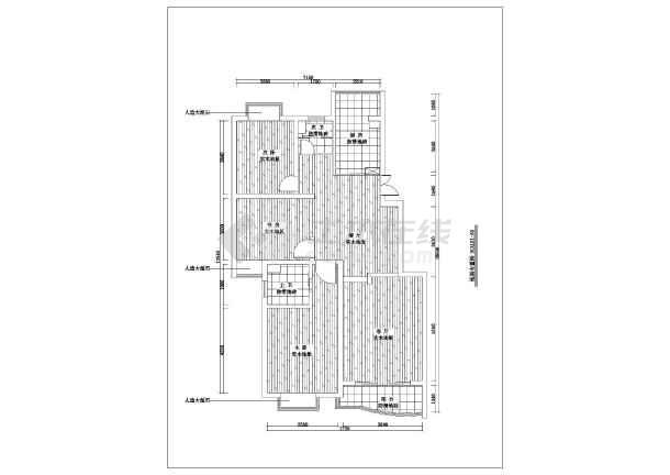 点击查看一套完整家装室内设计cad施工图含效果图第1张大图