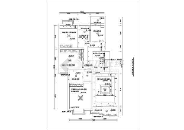 点击查看一套完整家装室内设计cad施工图含效果图第2张大图