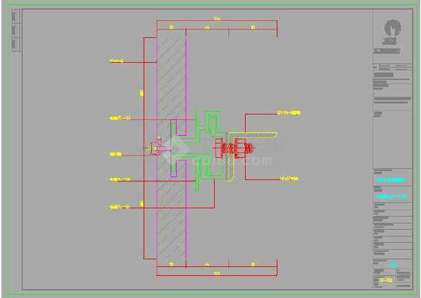 超高层地标建筑幕墙视觉样板模型方案-图1