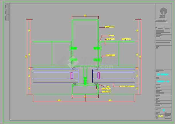 超高层地标建筑幕墙视觉样板模型方案-图2
