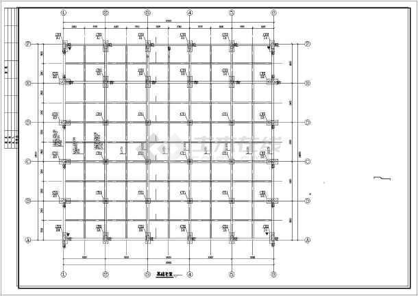 劳斯莱斯钢结构展厅结施图-图一