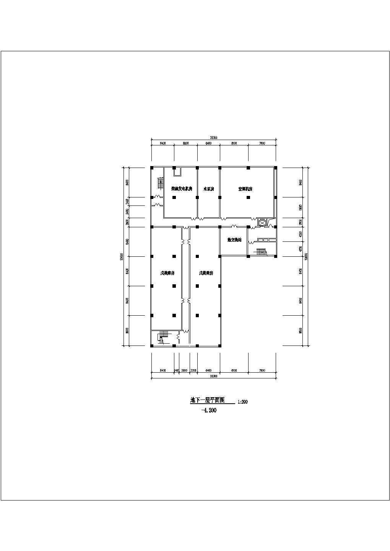 某地商场设计图纸(全集)图片1