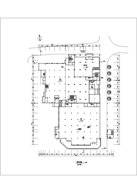 某地商场设计图纸(全集)图片2