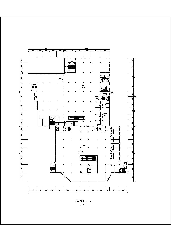 某地商场设计图纸(全集)图片3