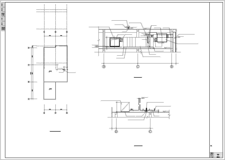 某洁净厂房空调系统cad平面布置施工图图片1