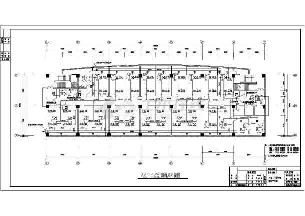 点击查看一整套建筑中央空调cad设计施工图(毕业设计)第2张大图