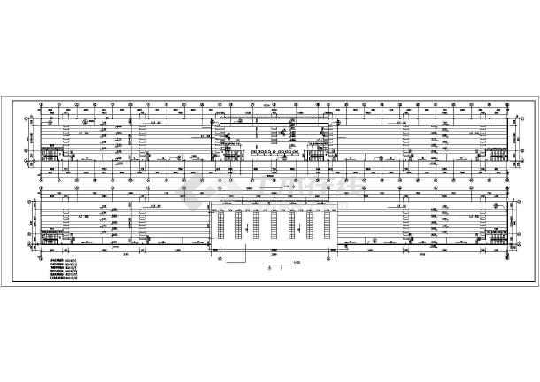 某中学体育场建筑设计CAD施工图-图2