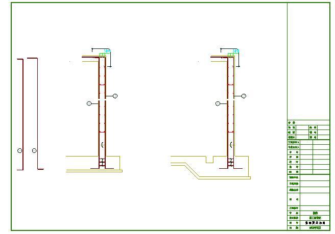 消防水池及泵房(建筑+结构)CAD图纸图片1