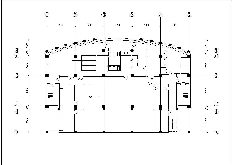地下室中央空调系统设计施工图图片1