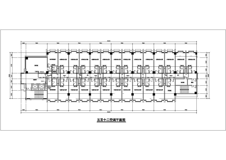 小型商业办公综合楼空调自控系统设计施工图图片2