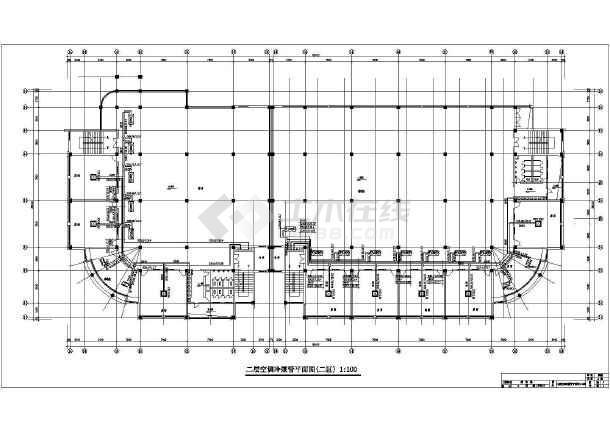 居住区配套公共建筑空调系统设计施工图-图3