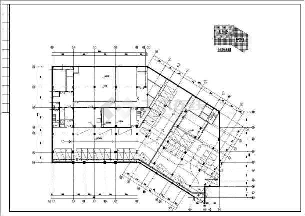 [广东]多层公共建筑空调通风排烟系统设计施工图-图2