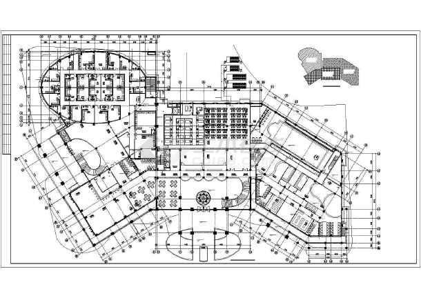 [广东]多层公共建筑空调通风排烟系统设计施工图-图3