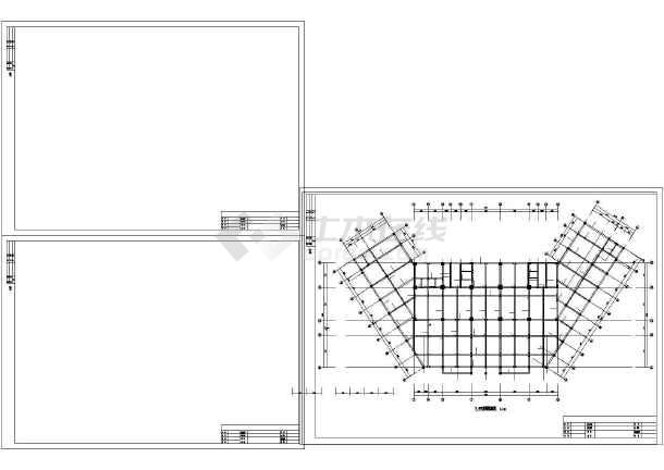 [江苏]某19层框剪综合办公楼结构设计图-图3