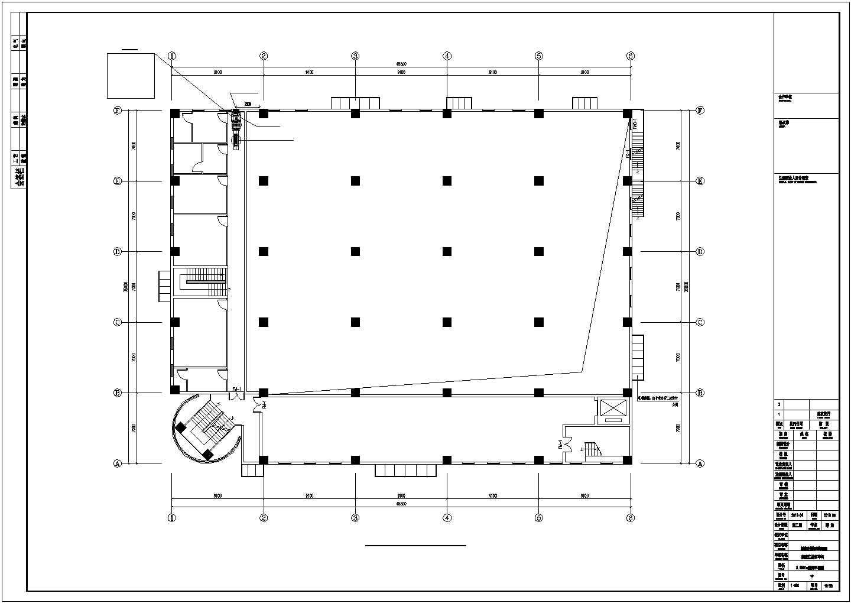 [西安]洁净厂房空调通风设计施工图图片1