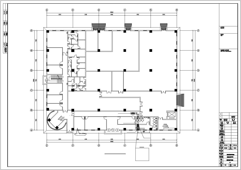 [西安]洁净厂房空调通风设计施工图图片2