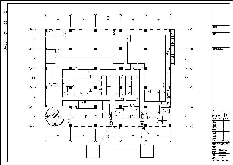[西安]洁净厂房空调通风设计施工图图片3