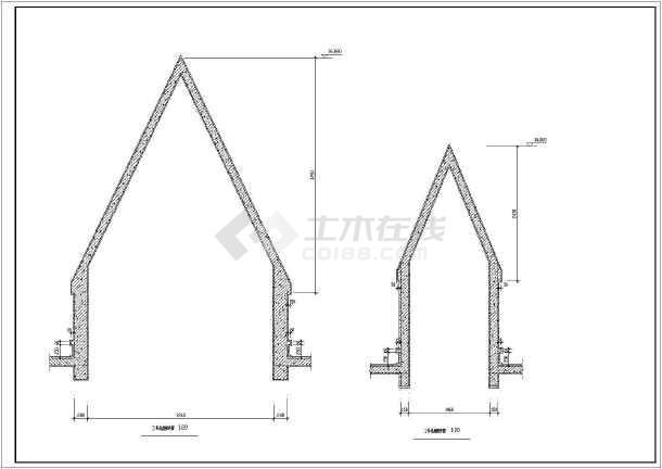 某地大型三层法国古堡方案设计图纸(含建筑工程总说明)-图2