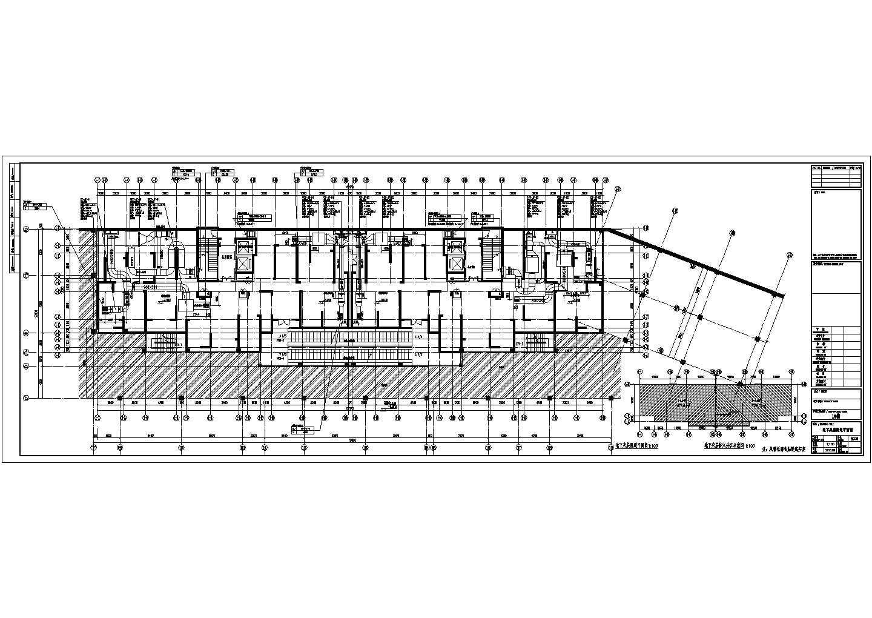 [江苏]高层住宅地下室通风防排烟平面图图片2