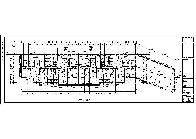 [江苏]高层住宅地下室通风防排烟平面图图片3