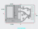铁艺大门、砖砌围墙,钢筋混凝土柱子结构设计图图片1