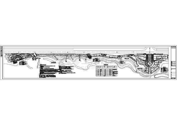 点击查看某湿地公园供电照明cad设计图第1张大图