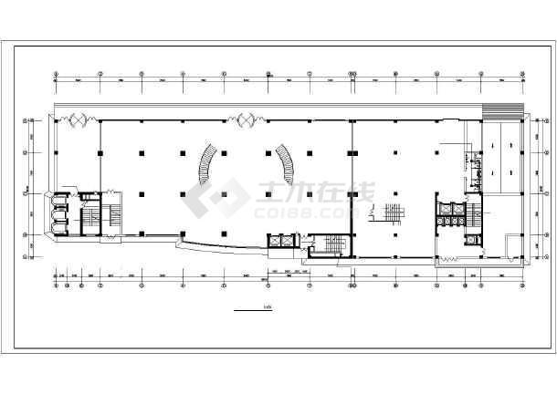 商业综合楼采暖通风施工图-图1