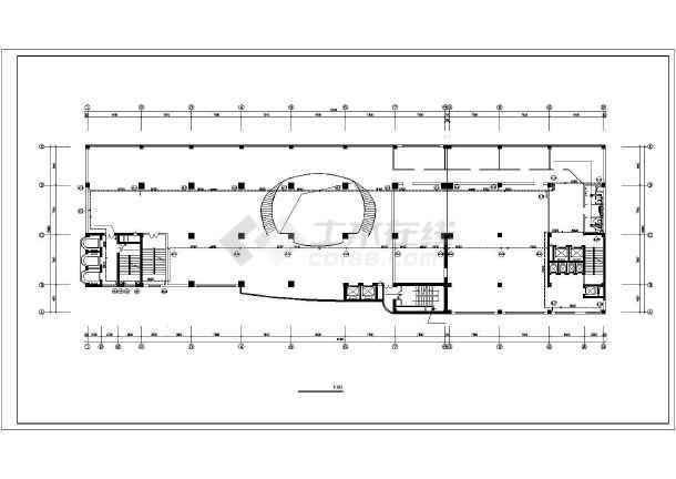 商业综合楼采暖通风施工图-图2