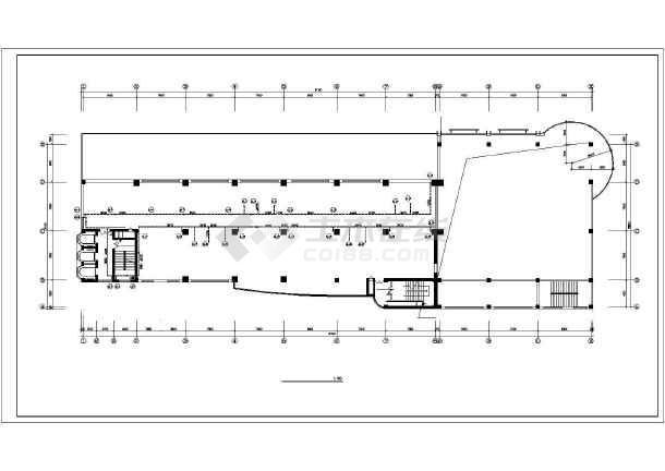 商业综合楼采暖通风施工图-图3
