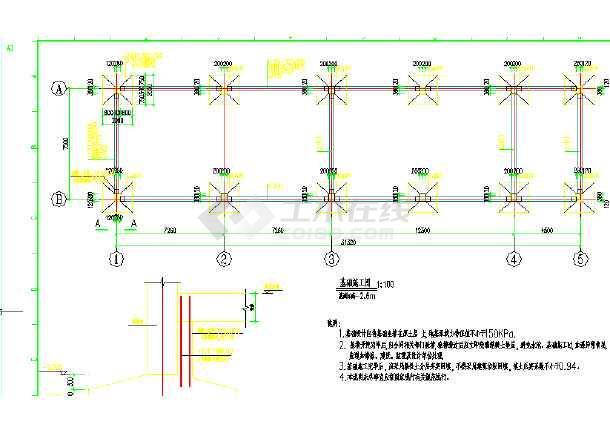点击查看某30MW地面光伏发电项目图纸第2张大图