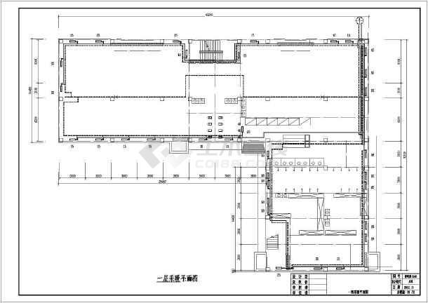 [新疆]铁路局公寓楼给排水采暖设计施工图-图一