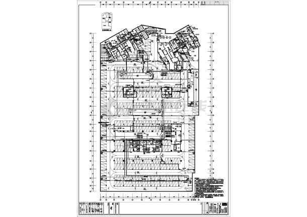 某小区地下车库电气全套图纸-图2