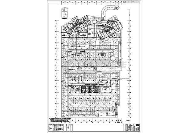 某小区地下车库电气全套图纸-图3