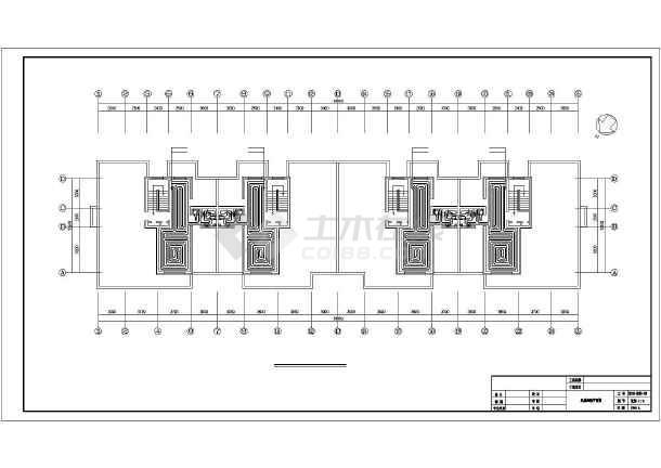 点击查看某底商住采暖及给排水施工图第2张大图