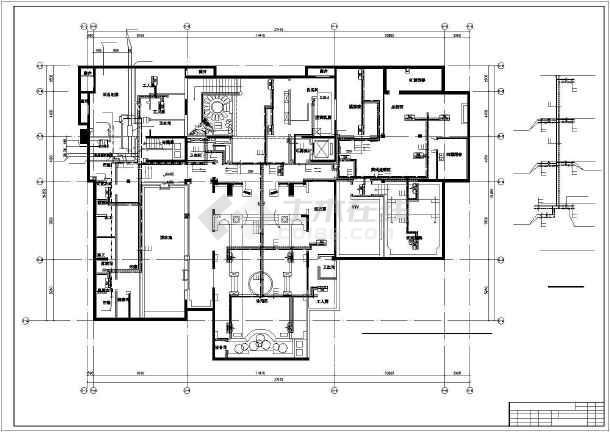点击查看[北京]高档别墅暖通空调施工图第1张大图