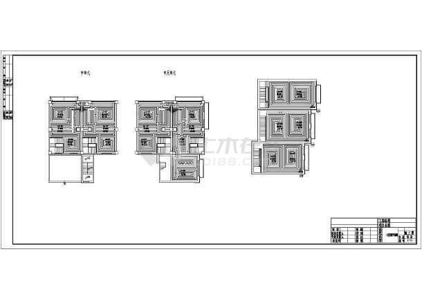 北方商住楼给排水、消防、地暖设计全图-图2