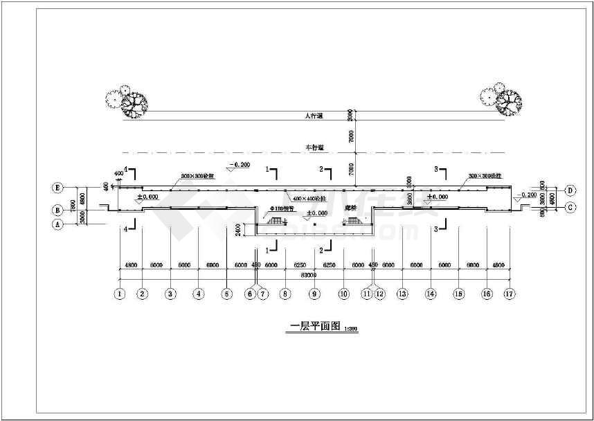 一套比较实用的古建筑图纸-图二