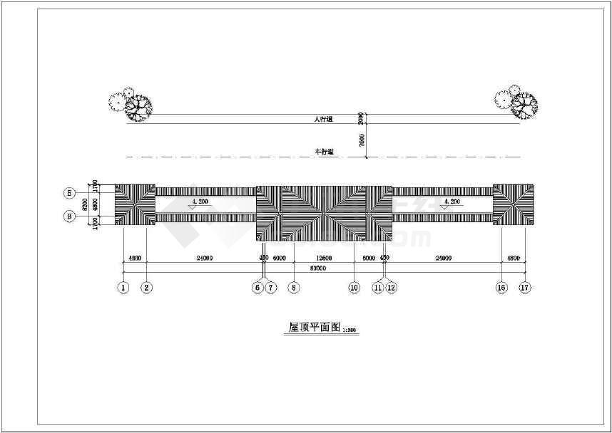 一套比较实用的古建筑图纸-图3