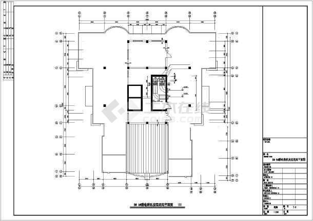 点击查看[本溪]住宅楼采暖通风设计施工图第1张大图