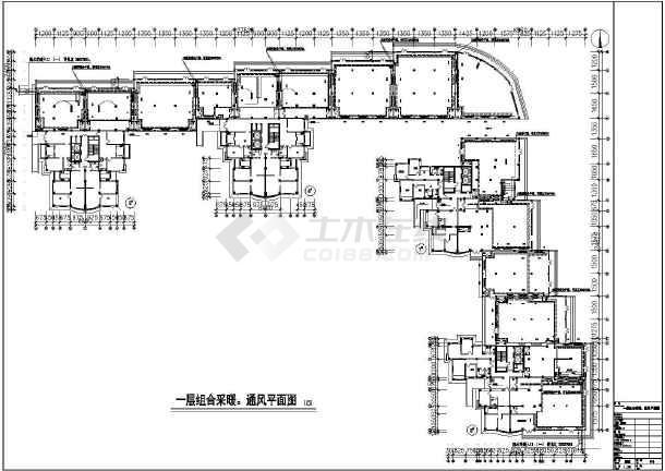 [本溪]住宅楼采暖通风设计施工图-图3