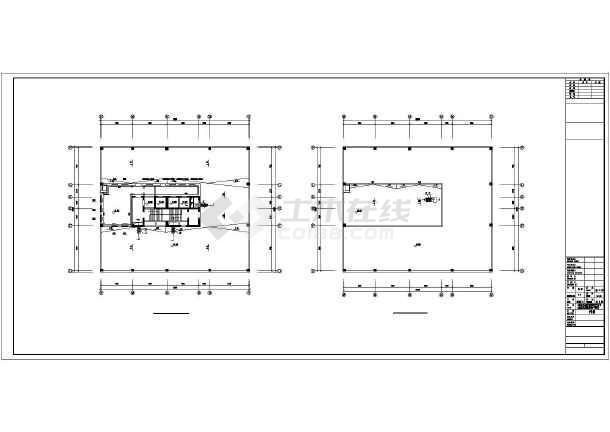 点击查看[长春]某高层办公楼采暖通风施工图第1张大图