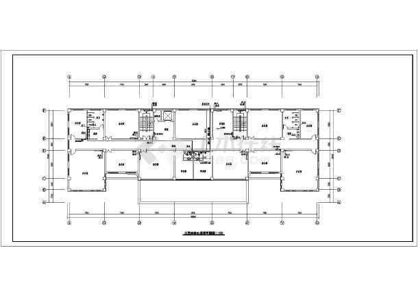 [新疆]多层办公大楼采暖给排水设计图-图3