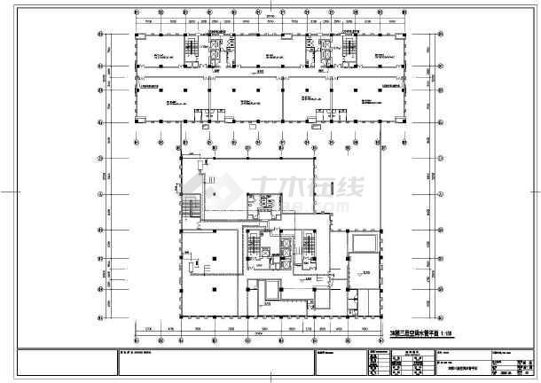[南京]商业综合楼暖通空调施工图-图1