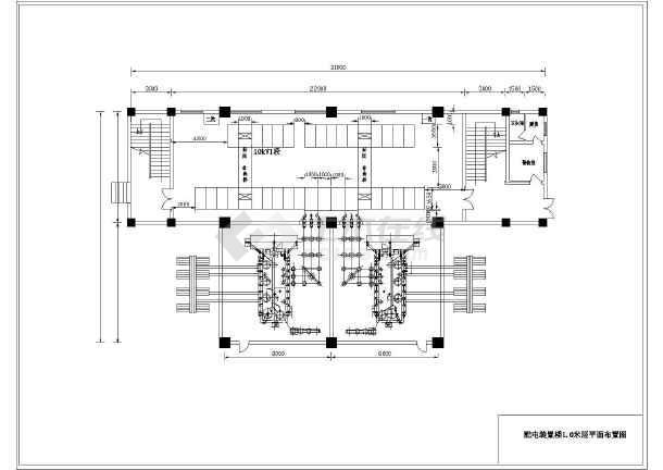 南网110kV标准设计方案cad系统设计施工图-图一