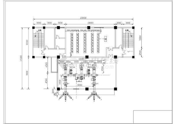南网110kV标准设计方案cad系统设计施工图-图2