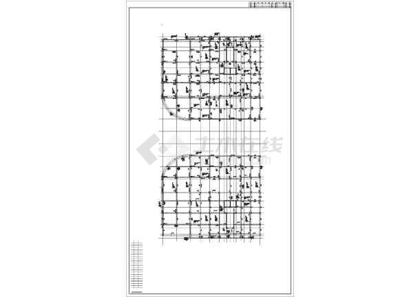 某15层框剪住宅楼结构设计图-图一